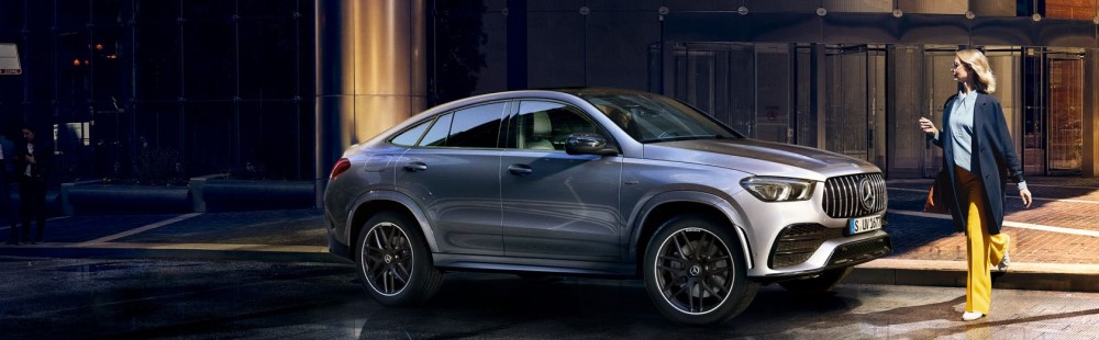 The new GLE Coupé and Mercedes-AMG GLE 53 Coupé