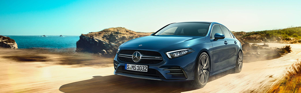 The new Mercedes-AMG A 35 4MATIC Sedan